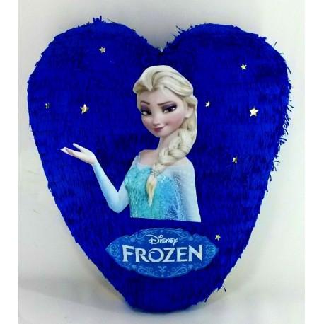 Piñata de corazon frozen