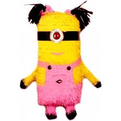 Piñata Minion 3D (un ojo)