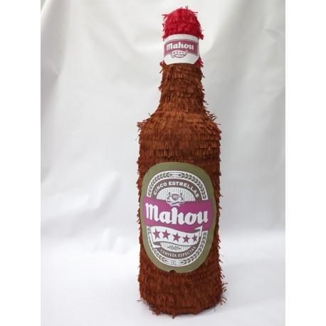 Piñata Botella de Cerveza Mahou